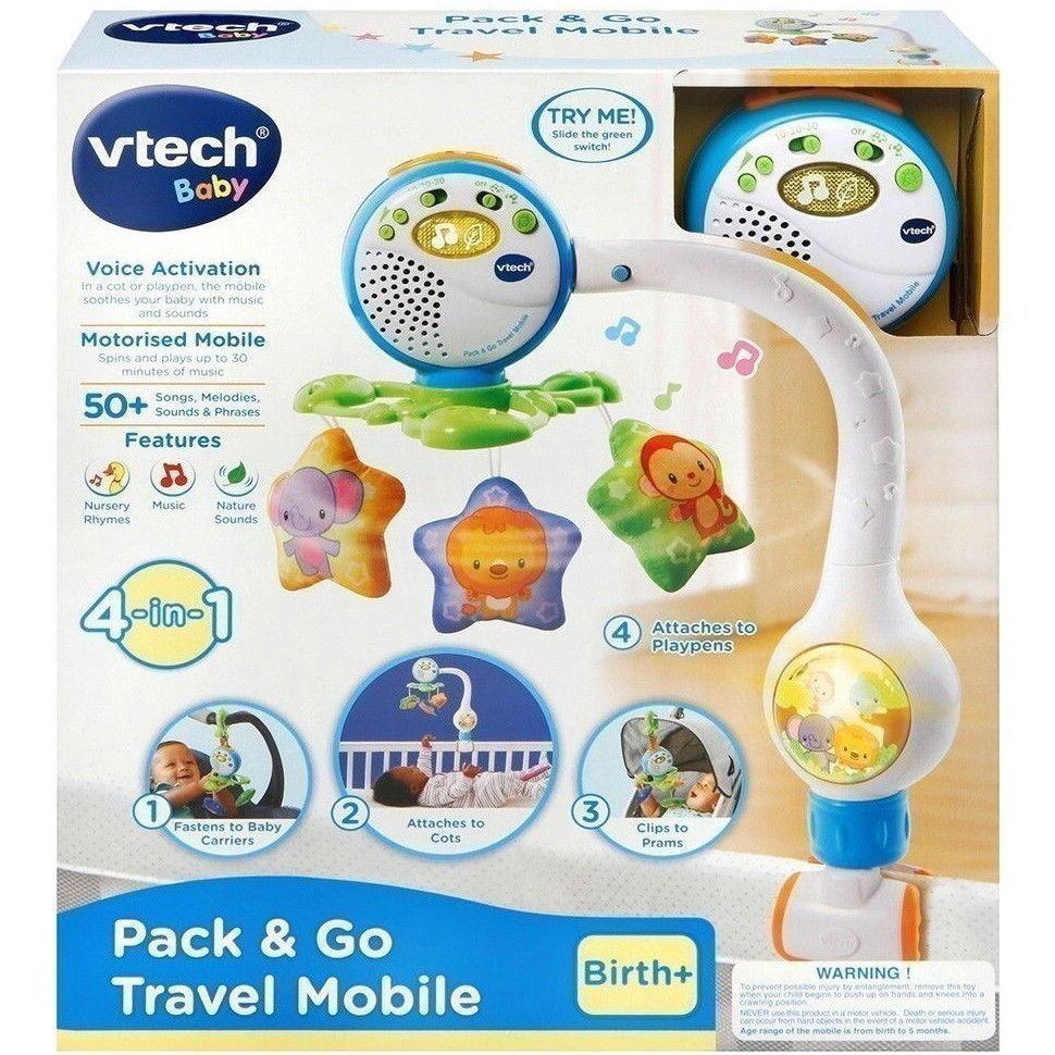 vtech baby  Vtech Baby - Pack & Go Travel Mobile | Top Toys