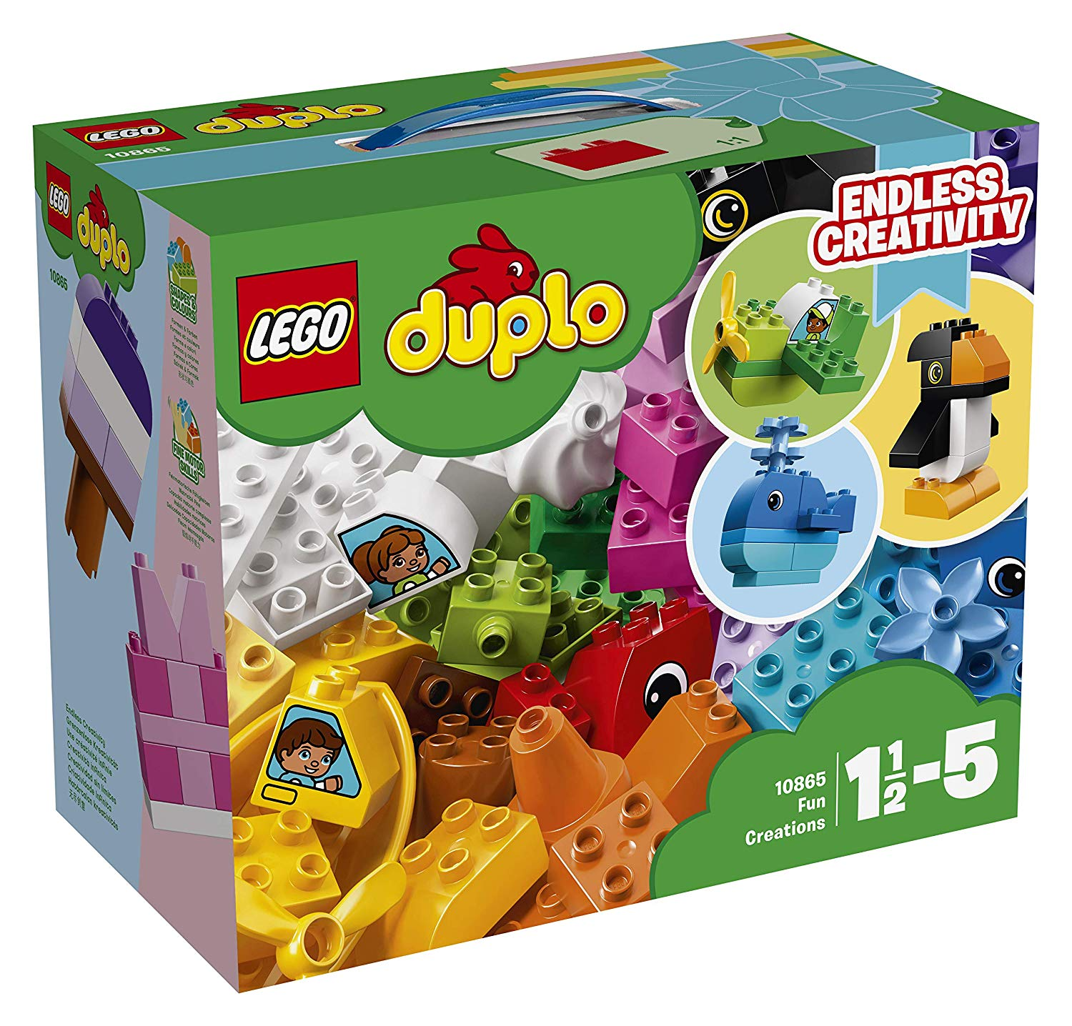 Lego Duplo 10865 Fun Models Toy For Nursery Old Top Toys