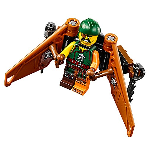LEGO Ninjago 70604 Tiger Widow Island 450pcs Building Kit ...