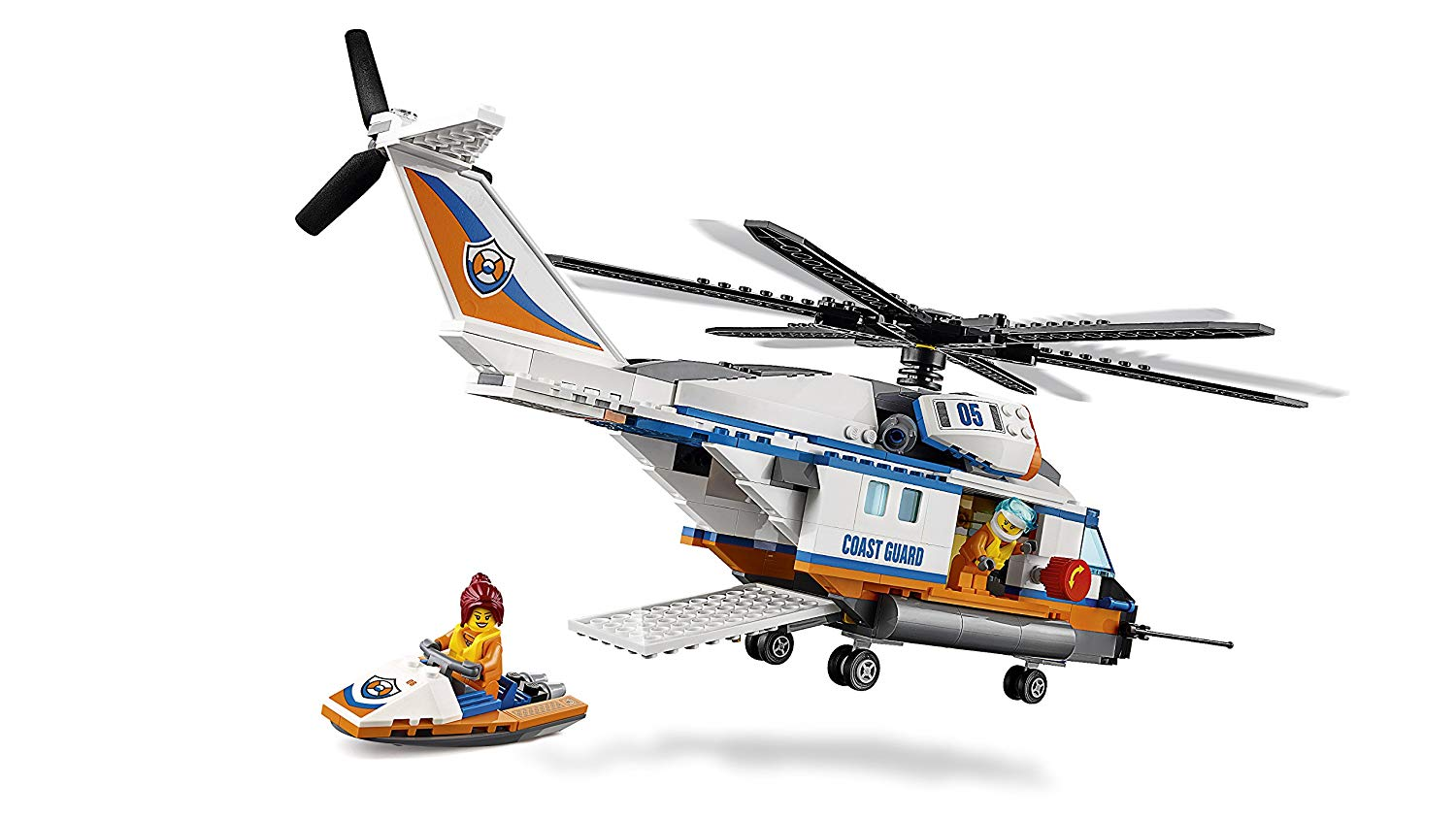 LEGO City Coast Guard - Heavy-Duty Rescue Helicopter   Top ...