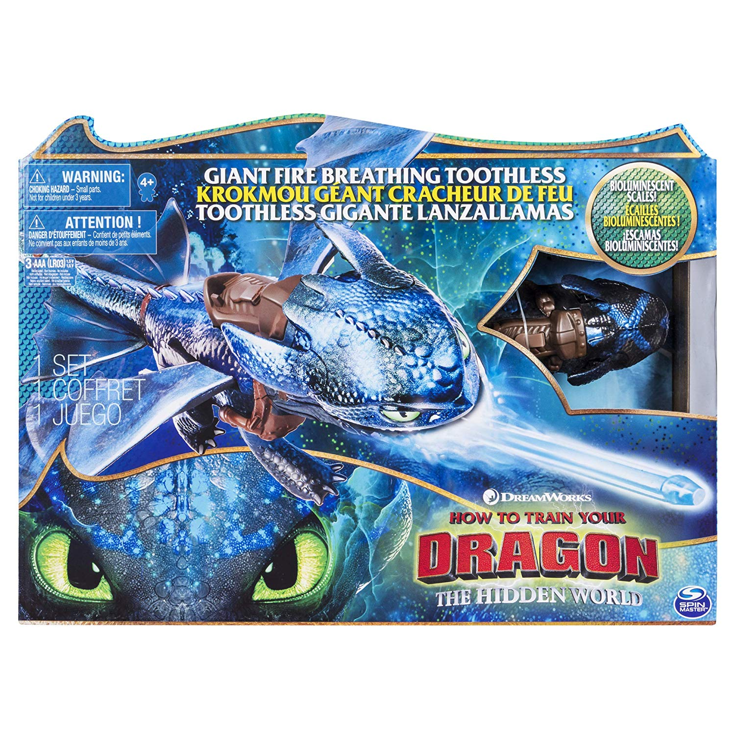 20 inch Fire Breathing Effects Giant Toothless Dragons 6045436 DreamWorks