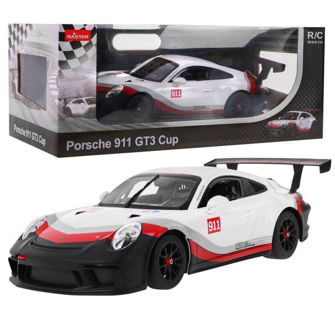 RASTAR RC PORSCHE 911 GT3 CUP 1:14 mit Fernsteuerung NEU !