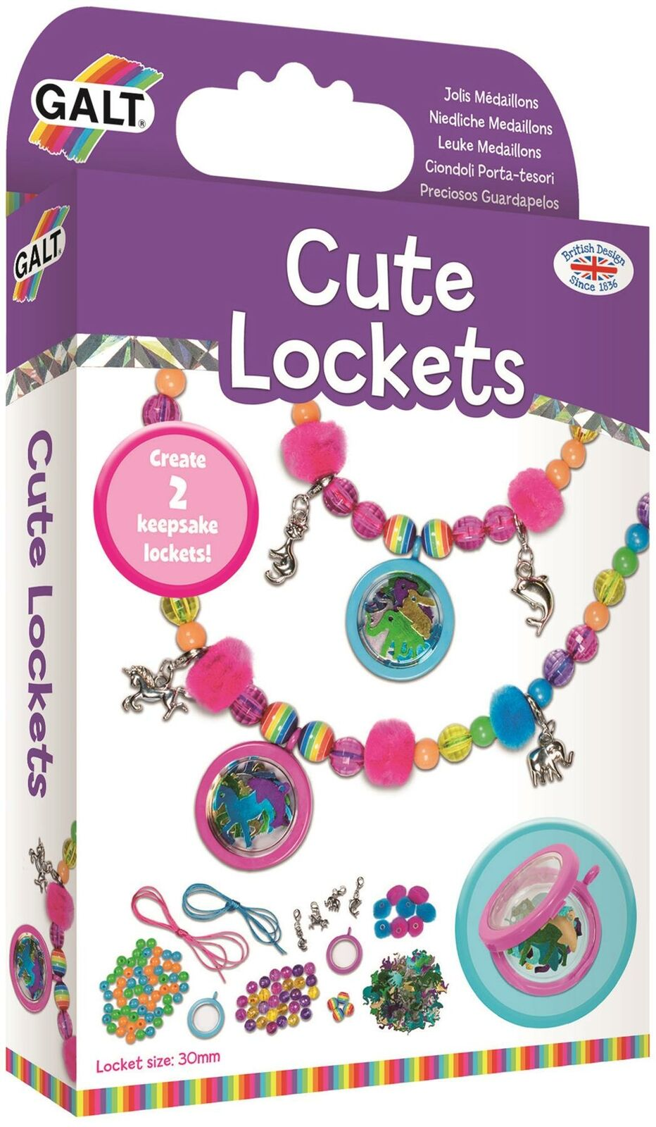 Galt SENSATIONAL SEQUINS FAIRIES AND UNICORNS Kids Art Craft Toy BNIP